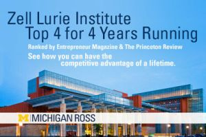 Entrepreneur Ranking ZLI top four business school