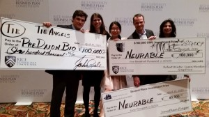 University Michigan Ross Rice Business Plan Competition Win Zell Lurie Institute